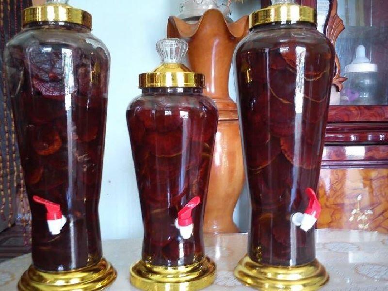 Hướng dẫn cách ngâm rượu nấm linh chi đỏ